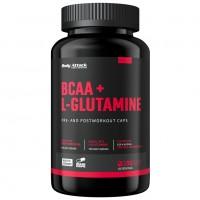 Body Attack BCAA + Glutamine, 180 caps
