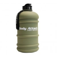 Body Attack Water Bottle 2.2L- Military Green