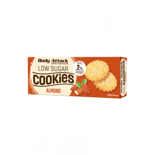 Body Attack Low Sugar Cookies- 115g