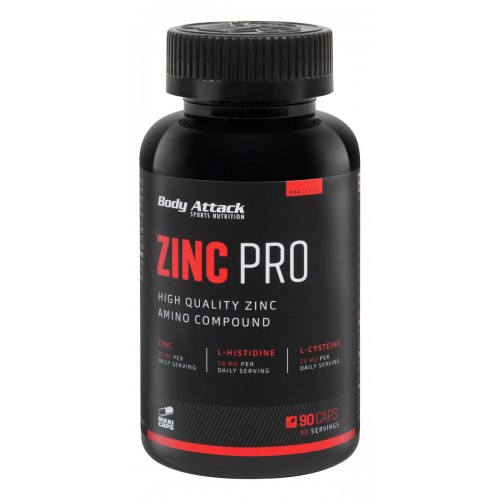 Body Attack Zinc PRO- 180 Caps