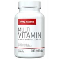 Body Attack Multi Vitamin- 100 Tabs