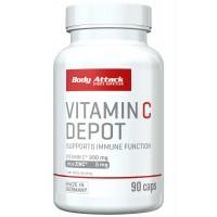 Body Attack Vitamin C Depot- 90 Caps