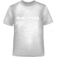 Body Attack Tee Grey