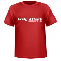 Body Attack Tee Red