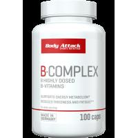 Body Attack Vitamin B-Complex- 100 Caps