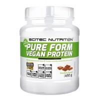 Scitec Pure Form Vegan Protein- 450g